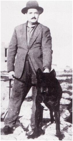 Doc Morsiani et cane Corso