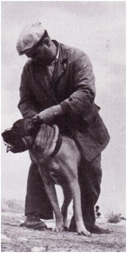 Paolo Breber et cane Corso